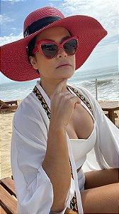 Óculos Michele vermelho