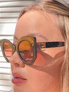 Óculos Isadora marrom