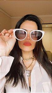 Óculos Leticia prateado