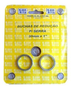 BUCHA REDUCAO SERRA CIRCULAR 1'' C/02 M50