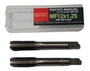 JOGO MACHO MANUAL A/C MF12X1,25 2640028 ROCAST-AMATOOLS