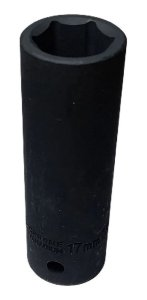 SOQUETE IMPACTO LONGO 1/2 X 17MM F6109 WAFT