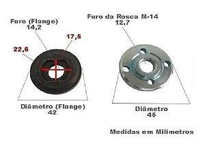 PORCA ESMERILHADEIRA 4.1/2 MILK.C/02 M267