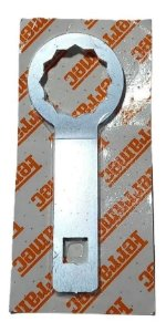 CHAVE ESTRIADA DE 36MM C/ENCAIXE DE 1/2 P/ TAMPA DO FIAT FR438-FREE MOTORS