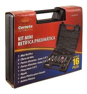 RETIFICA PNEUMATICA MINI 16 PCS 3377010 CORNETA