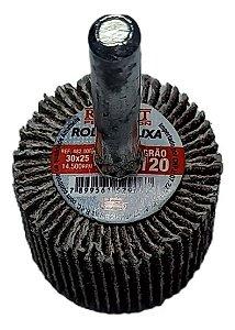 RODA DE LIXA 30X25 GR.120 ROCAST 4820003 ROCAST