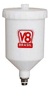 COPO PISTOLA DE PINTURA PP3 600ML 19911 V8 BRASIL