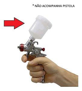 COPO PISTOLA DE PINTURTA PPK4 125ML 186161 V8 BRASIL