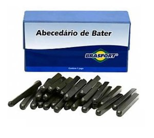 ABECEDARIO DE BATER 05MM F6022 BRASFORT