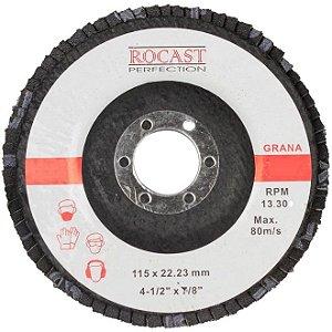 DISCO FLAP 115MM GR120 ROCAST-AMATOOLS