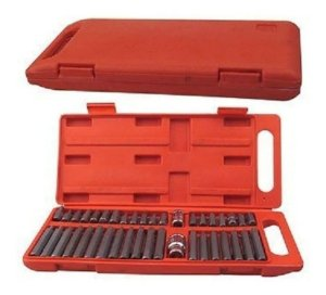 JOGO DE BITS 10MM - 40PCS PLASTIC BOX 904500-VIP INDUSTRIAL -EUROFER