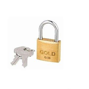 CADEADO LT-30MM GOLD