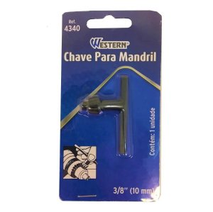 CHAVE MANDRIL 3/8 10MM 4340 WESTERN