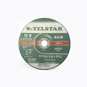 DISCO CORTE FERRO 7X1/8X7/8 TELSTAR