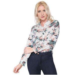 Camisa Floral Off