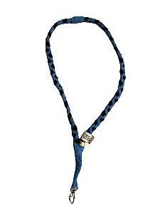 Cordão de Resíduo Têxtil Azul - Silicup