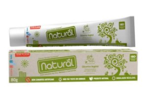Creme Dental Natural Camomila 80g + Brinde