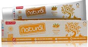 Creme Dental Natural Cúrcuma 80g + Brinde
