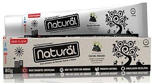 Creme Dental Natural com Carvão Ativado 80g + Brinde