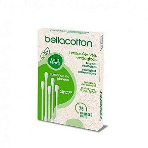 Cotonete Ecológico Vegano – 75un – Bellacotton