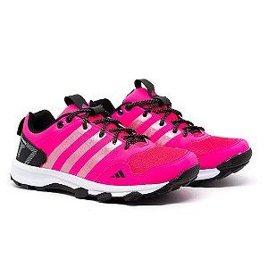Tênis Adidas Kanadia TR7 Rosa e Preto