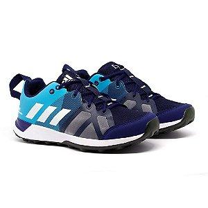 Tênis Adidas Kanadia TR8 Marinho e Azul