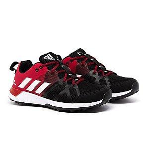 Tênis Adidas Kanadia TR8 Preto e Vermelho