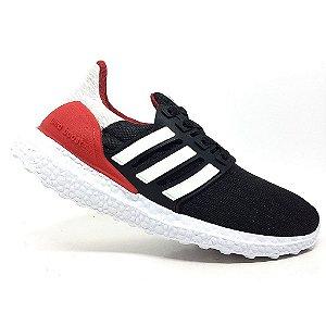 Tênis Adidas Ultraboost S&L Preto e Vermelho