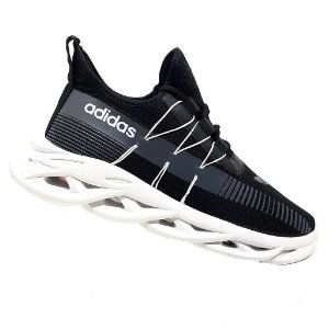 Tênis Adidas Yeezy Maverick  Preto e Branco