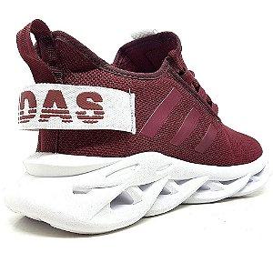 Tênis Adidas Yeezy Salt Bordô