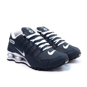 Tênis Nike Shox NZ Azul Marinho