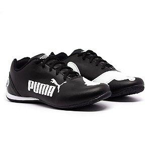 Tênis Puma Bmw Cat 2 Preto e Branco