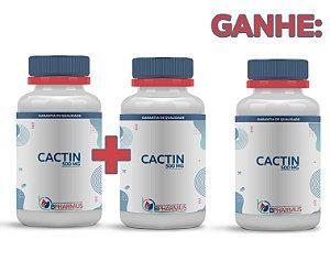 2 Cactin 500mg (60 cápsulas cada) e ganhe 1 - Bpharmus