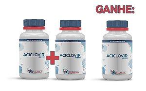2 Aciclovir 400mg (60 cápsulas cada) e ganhe 1 - Bpharmus