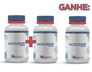 2 Aciclovir 800mg (60 cápsulas cada) e ganhe 1 - Bpharmus