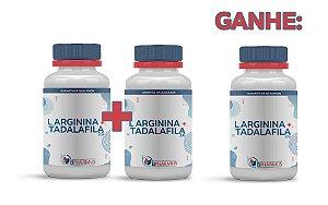 2 L Arginina 3g + Tadalafila 15mg (60 cápsulas cada) e ganhe 1 - Bpharmus