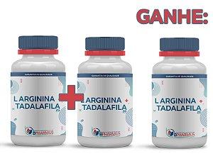 2 L Arginina 2g + Tadalafila 5mg (60 cápsulas cada) e ganhe 1 - Bpharmus