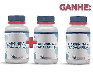 2 L Arginina 1g + Tadalafila 10mg (60 cápsulas cada) e ganhe 1 - Bpharmus