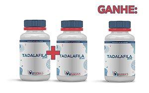 2 Tadalafila 20mg (60 cápsulas cada) e ganhe 1 - Bpharmus