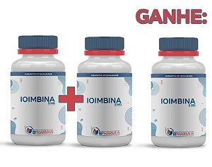 2 Ioimbina 5mg (60 cápsulas cada) e ganhe 1 - Bpharmus