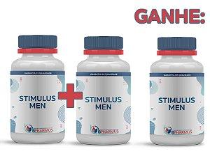 2 Stimullus Men (60 cápsulas cada) e ganhe 1 - Bpharmus