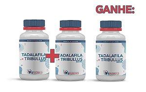 2 Tadalafila 5mg + Tribullus Terrestris 400mg (60 cápsulas cada) e ganhe 1 - Bpharmus
