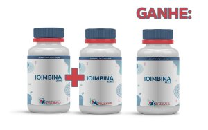 2 Ioimbina 10mg e ganhe 1 (60 cápsulas cada) - Bpaharmus