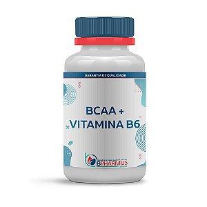 BCAA + Vitamina B6 (60 cápsulas) - Bpharmus