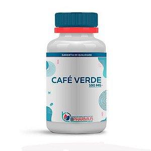 Café Verde (Green Coffee) 100mg 120 Cápsulas - Bpharmus