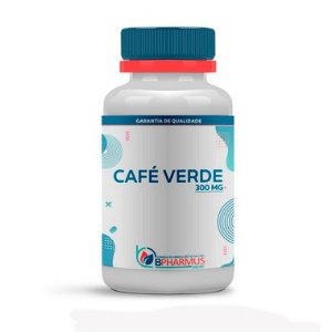 Café Verde (Green Coffee) 300mg 120 Cápsulas - Bpharmus