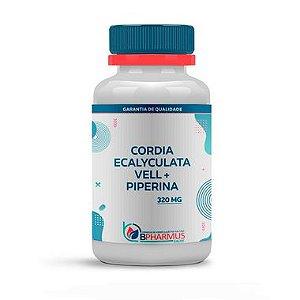 Cordia ecalyculata Vell 300mg com Piperina 20mg 120 Cápsulas - Bpharmus