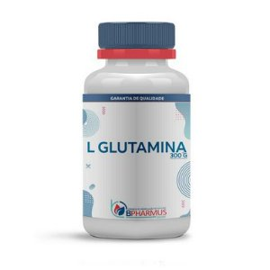 L Glutamina (em pó) 300g - Bpharmus