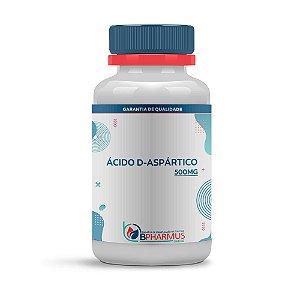Ácido D-Aspártico 500mg - Bpharmus