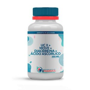 Composto UCII + Move + Diacereína + Ácido Ascorbico - Bpharmus
